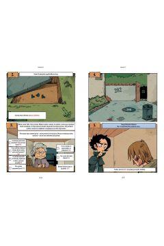 Komiksy paragrafowe. Cztery śledztwa Sherlocka