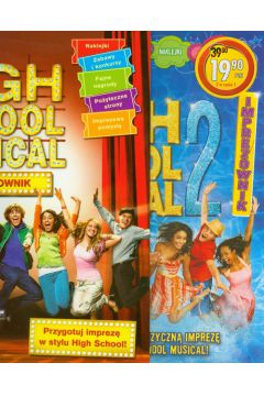 High School Musical. Imprezownik/Imprezownik 2. Pakiet 2 książek