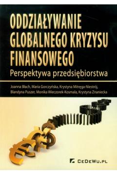 Oddziaływanie globalnego kryzysu finansowego