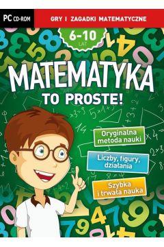 Matematyka to proste! Gry i zagadki matematyczne na CD-ROM Nowa edycja