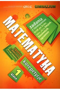 Matematyka - korepetycje - gimnazjum, klasa 1