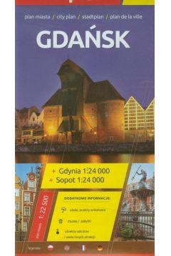 Plan Miasta EuroPilot. Gdańsk Gdynia Sopot plastik