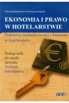 Ekon. i prawo w hotelarstwie - podst. rachun. REA