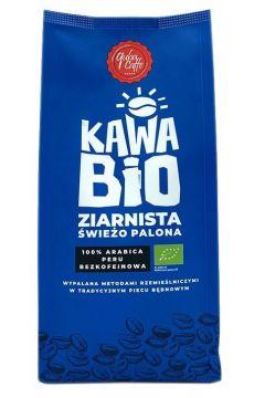 Kawa ziarnista bezkofeinowa Arabica 100%