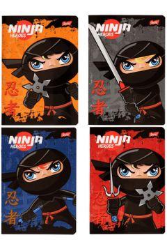 Zeszyt A5 laminowany w kratkę 16 kartek Ninja UNIPAP