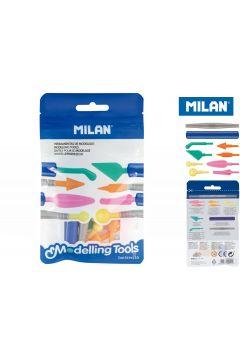 Narzędzia do modelowania Milan zestaw 2 uchwyty + 8 różnych końcówek