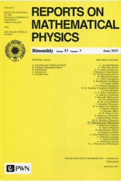 Reports on Mathematical Physics 83/3/2019
