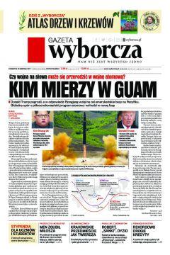 Gazeta Wyborcza - Szczecin 185/2017