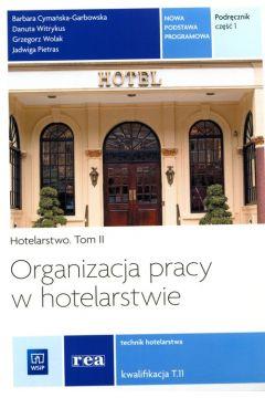 Organizacja pracy w hotelarstwie Podr. cz 1 REA