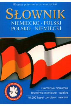 Słownik niemiecko-polski, polsko-niemiecki 3w1 - wydanie kieszonkowe