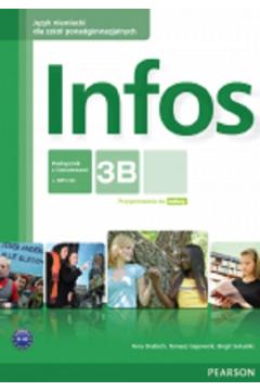 Infos 3B podręcznik z ćwiczeniami+CD PEARSON