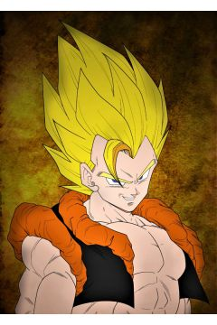 Dragon Ball - Gogeta - plakat