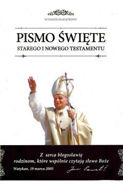 Biblia domowa 2017 z obwolutą papieską