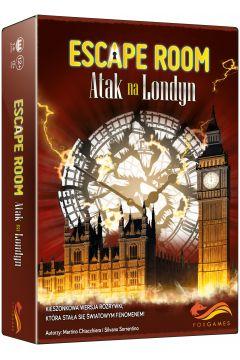 Gra Atak na Londyn escape room - sprawdź >