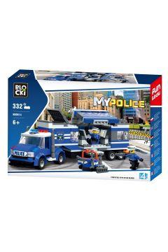 Klocki Blocki MyPolice 332 elementy Mobilny posterunek KB0614