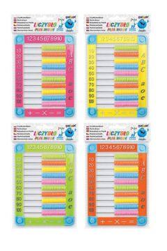 Liczydło Fun&Joy plastikowe 10-rzędowe