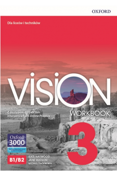Vision 3 WB + online practice OXFORD