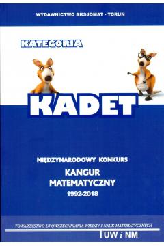 Matematyka z wesołym Kangurem Poziom KADET
