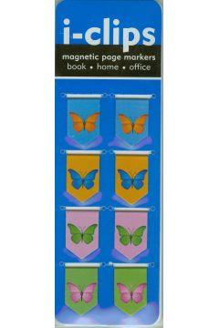 Zakładka magnetyczna Motyle