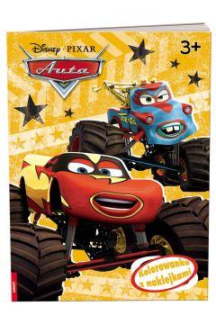 Disney/Pixar Auta. Kolorowanka z naklejkami