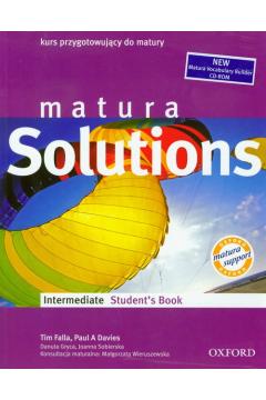 Matura Solutions Intermediate SB +CDR