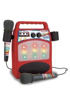 Wzmacniacz z 2 mikrofonami