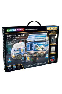 Klocki. Laser Pegs. Mobile Police Unit