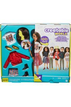 Barbie Zestaw Creatable world GKV47
