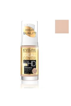 Ideal Cover Full HD Foundation SPF10 matujący podkład kryjący 204 Nude