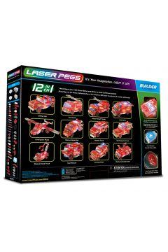 Klocki. Laser Pegs. Fire Truck 12 w 1