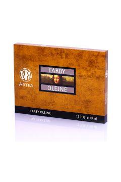 Farby olejne Artea 12 kolorów 18 ml Zestaw 1