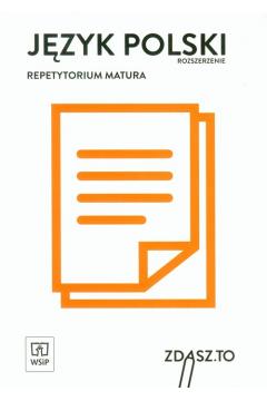 Repetytorium matura 2018. Język polski ZR WSiP
