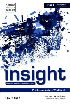 Insight Pre-Intermediate Workbook with Online Practice (A2/B1)