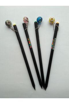 Ołówek HB z przywieszką (koralik)