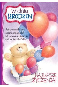 Karnet B6 FF-296 Urodziny dziecięce