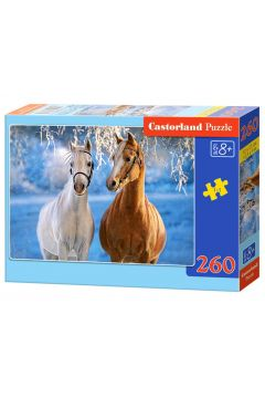 Puzzle 260 The Winter Horses - Castorland