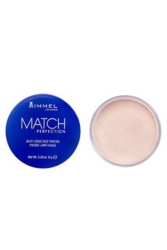 Match Perfection Silky Loose Face Powder puder sypki 001 Transparent