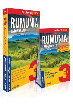 Explore! guide Rumunia i Mołdawia 3w1