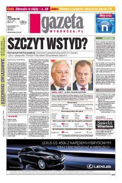 Gazeta Wyborcza - Częstochowa 242/2008