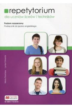 Repetytorium do języka angielskiego. Poziom B2. Podręcznik dla liceum i technikum. Zakres rozszerzony