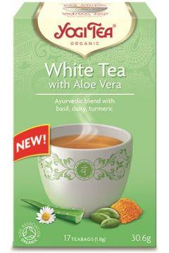 Herbata biała z aloesem (white tea with aloe vera)