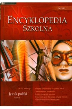 Encyklopedia. Język polski. Liceum