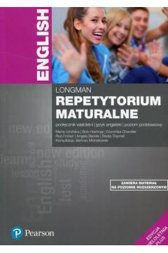 Repetytorium maturalne. Język angielski. Podręcznik. Poziom podstawowy. Edycja wieloletnia 2 w 1