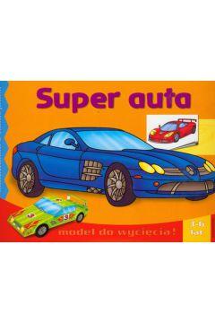 Super auta - malowanka z naklejkami LITERKA