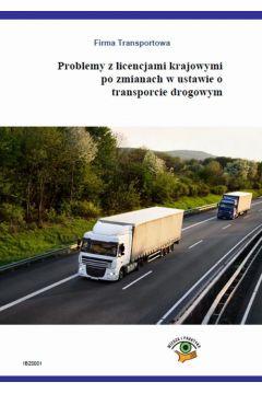 Problemy z licencjami krajowymi po zmianach w ustawie o transporcie drogowym