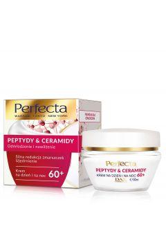 Peptydy & Ceramidy 60+ krem do twarzy silna redukcja zmarszczek i ujędrnienie na dzień i na noc