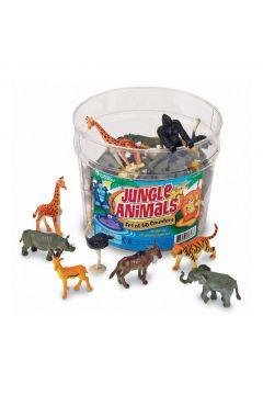 Figurki do nauki liczenia, Zwierzęta z Dżungli
