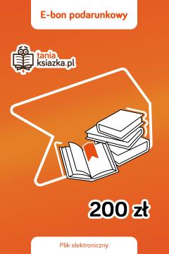 TanioKsiążkowy e-Bon Podarunkowy 200 zł - e-voucher prezentowy o wartości 200 zł