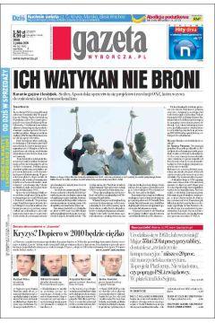 Gazeta Wyborcza - Częstochowa 282/2008