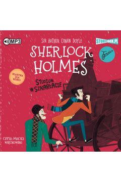 CD MP3 Studium w szkarłacie. Sherlock Holmes. Tom 1